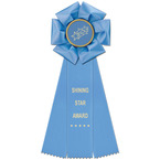 Beauty Rosette Award Ribbon