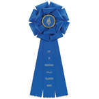 Preston Rosette Award Ribbon