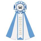 Royston Rosette Award Ribbon