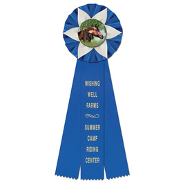 Ewell Rosette Award Ribbon