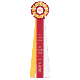 Newcastle Rosette Award Ribbon