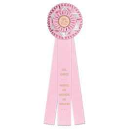 Cambridge Rosette Award Ribbon