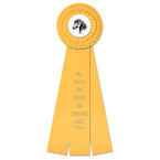 Dover Rosette Award Ribbon