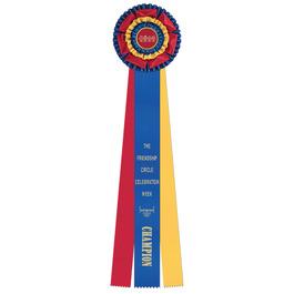 Mansfield Rosette Award Ribbon