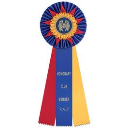 Eden Rosette Award Ribbon