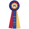 Eden Rosette Award Ribbon