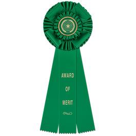 Langport Rosette Award Ribbon