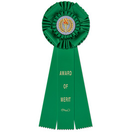 Langport Rosette Award Ribbon