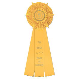 Hampshire Rosette Award Ribbon