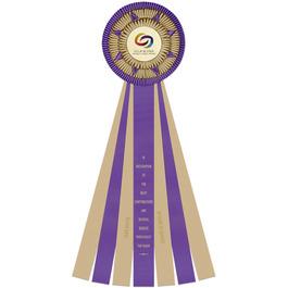 Cadbury Rosette Award Ribbon