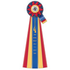 Jersey Rosette Award Ribbon