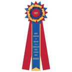 Amesbury Rosette Award Ribbon
