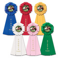 Stock Beauty Rosette Award Ribbon