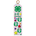 Stock 4-H Clover Bud Award Ribbon
