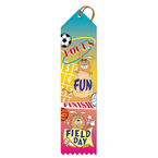 Focus, Fun, Finish FIELD DAY Award Ribbon