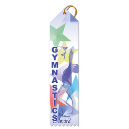 Stock Gymnastics Award Ribbon