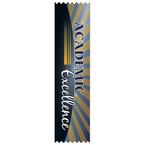 Stock Academic Excellence Award Ribbon