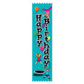 Stock Gymnastics Happy Birthday Award Ribbon