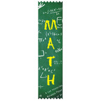 Stock Math Award Ribbon