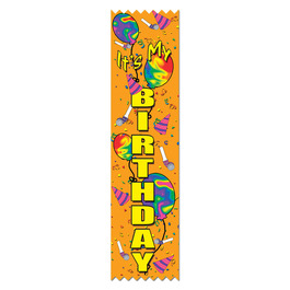 It's My Birthday Award Ribbon