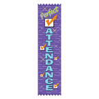 Perfect Attendance Award Ribbon