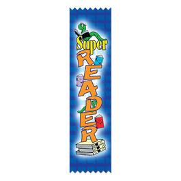Super Reader Award Ribbon