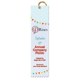 Multicolor Square Top Award Ribbon