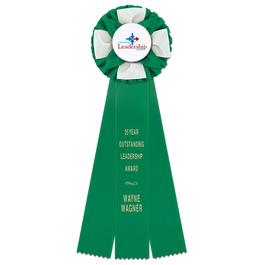 Iverson Rosette Award Ribbon