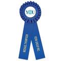 Luxury 2 Rosette Award Ribbon