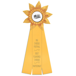 Greenville Rosette Award Ribbon