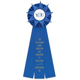 Ventnor Rosette Award Ribbon