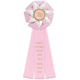 Roseland Rosette Award Ribbon