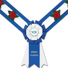 Easton Award Sash w/ Roses