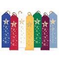 Stock Rising Star Point Top Award Ribbon