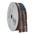 Stock Happy Birthday Award Ribbon Roll
