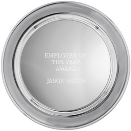 Pewter Image Award Tray