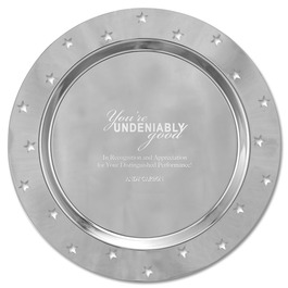 Award Tray w/ Cut Out Star Border