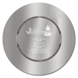 Round Award Tray