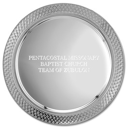 Lattice Edge Award Tray