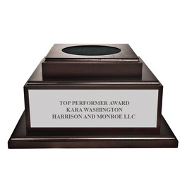 Medium Cherry Championship Trophy Base