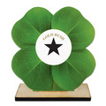 Birchwood Clover Award Trophy w/ Natural Birchwood Base