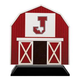Birchwood Barn Award Trophy w/ Black Base