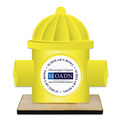 Birchwood Hydrant Award Trophy w/ Natural Birchwood Base