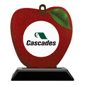 Birchwood Apple Award Trophy w/ Black Base