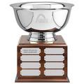 """8"""" Revere Bowl Award Trophy w/ Perpetual Base"""