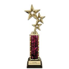 """11"""" Black HS Base Award Trophy"""