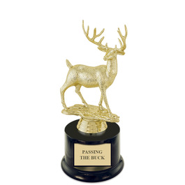 Passing the Buck Award Trophy