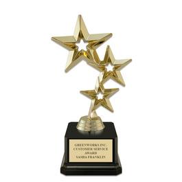 "7"" Award Trophy w/ Square Base"