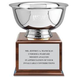 Revere Bowl Trophy w/ Championship Base