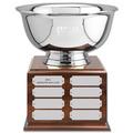 Revere Bowl Award Trophy w/ Perpetual Base